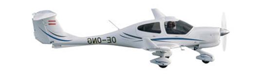 DA40 NG plane